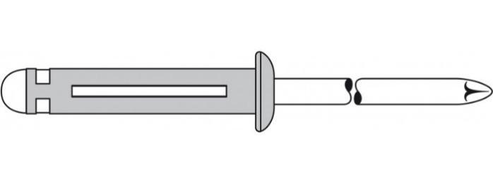 TRI-FOLD® (remaches ciegos) - El remache para aplicaciones muy blandas o porosas