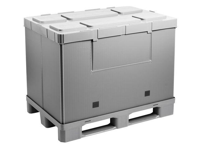Grand bac pliable: Mega-Pack 1200 Hybox