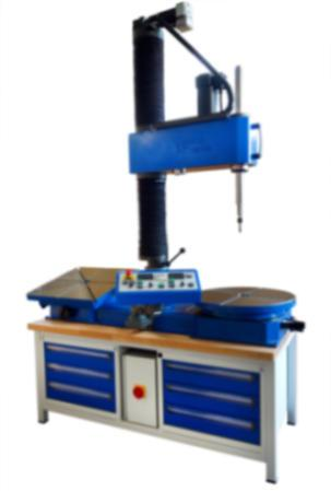 Stationäre Schleifmaschine für Dichtflächen - SM-550 - Stationäre Schleifmaschine für Dichtflächen an Armaturen - SM-550