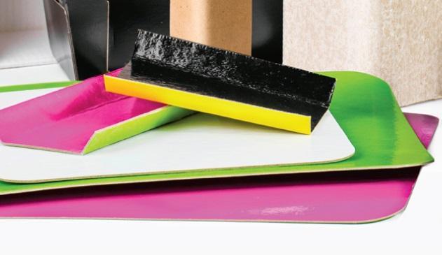 Planchas de cartón laminado