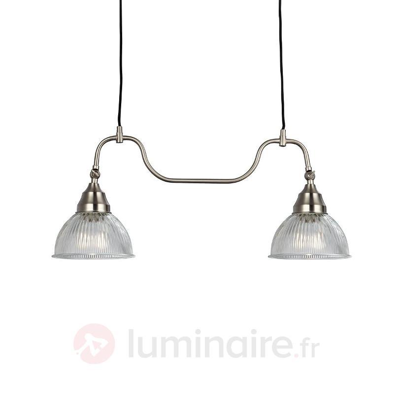 Suspension nordique Asnen à 2 lampes - Cuisine et salle à manger