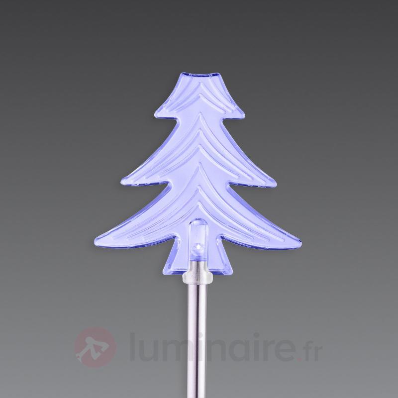 Set de lampes LED solaires, déco Noël - Lampes solaires décoratives