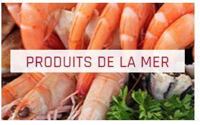 PRODUITS DE LA MER - CONGELÉS & SURGELÉS