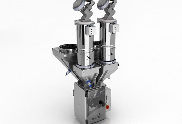 Sistema di dosaggio e miscelazione - ULTRABLEND medical - Sistema gravimetrico per il dosaggio e la miscelazione delle cariche