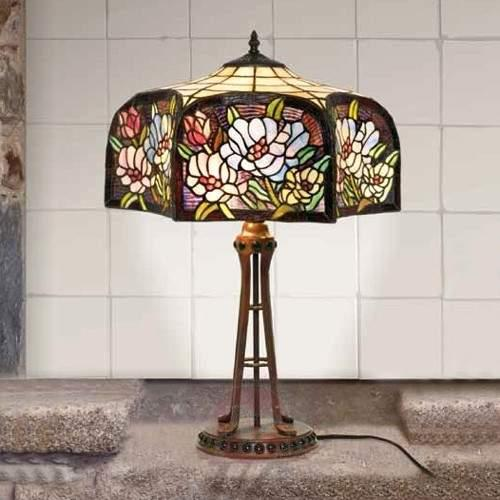 Tiffany-style table lamp Prim - Table Lamps