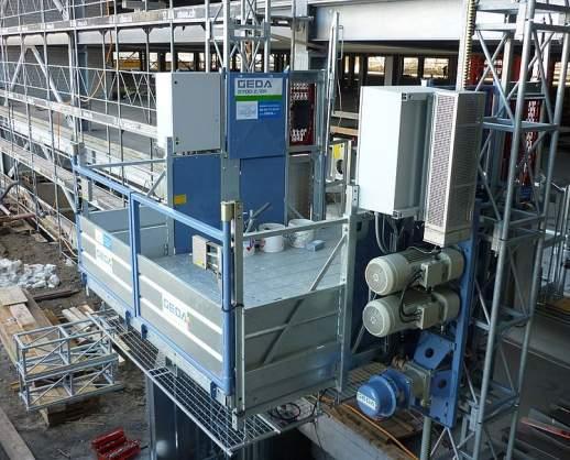 GEDA 3700 Z/ZP - GEDA 3700 Z/ZP - Transportbühnen für Personen und Material