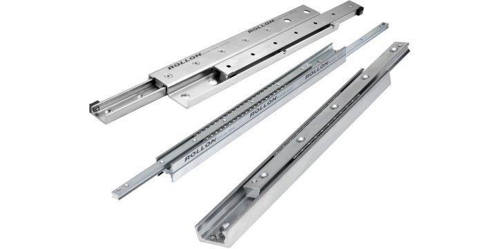 Telescopic Rail - Telescopic linear bearings for high load capacity