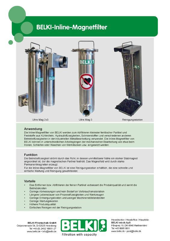 Inline Magnetfilter - Ultra Mag 3 -