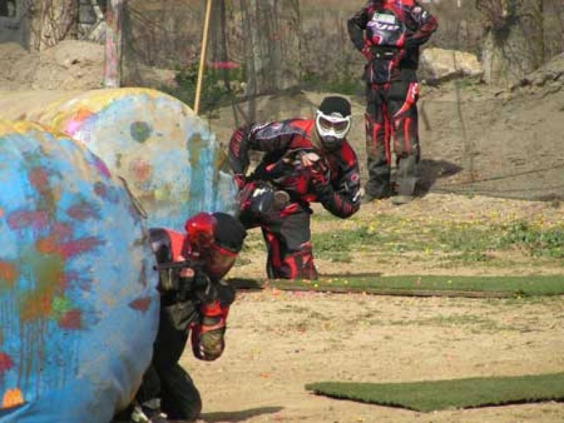Filet de séparation pour terrains de paintball 3 m x 100 m - Filetpaintball3