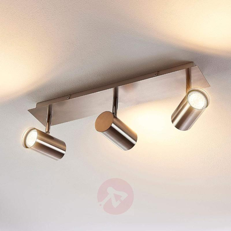 3-bulb LED ceiling lamp Iluk - Spotlights