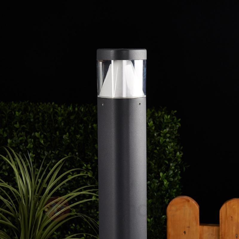 Borne lumineuse LED Milou en aluminium - Bornes lumineuses LED