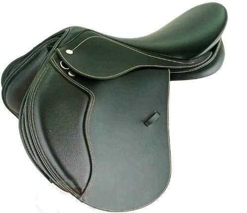 Synthetic GP horse ridding Saddle with deep seat - Horse Riding Saddle
