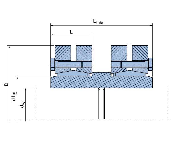 Shaft Coupling  - RfN 5071