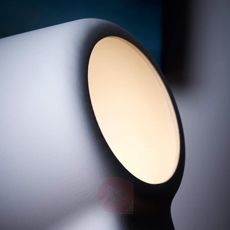White designer table lamp La Lente - Table Lamps