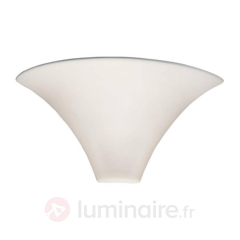 Applique blanche de qualité CARDIN joli design - Appliques à éclairage indirect