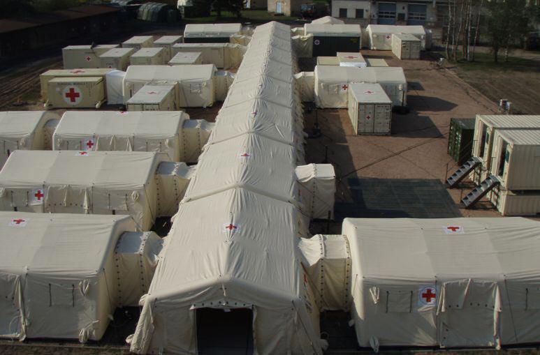 Structures et Bâtiments à déploiement rapide - Missions civiles