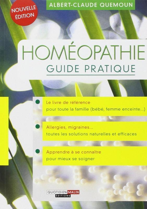 Homéopathie guide pratique - Homéopathie - librairie