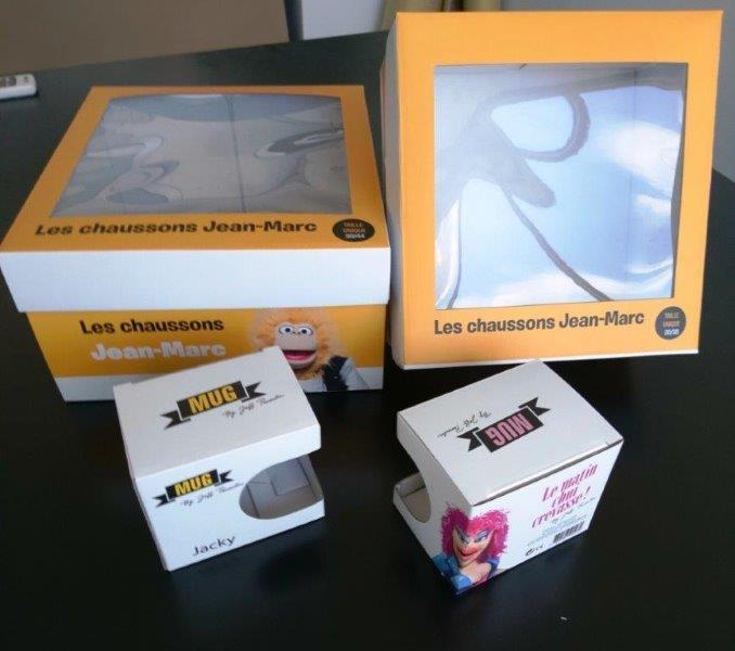 scatole di cartone con finestra - scatole di cartone con finestra e stampa offset