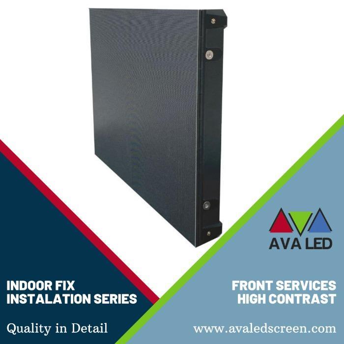 AVA LED TN-PRO-IF sorozat - Beltéri AVA LED kijelző, elülső szerviz telepítés