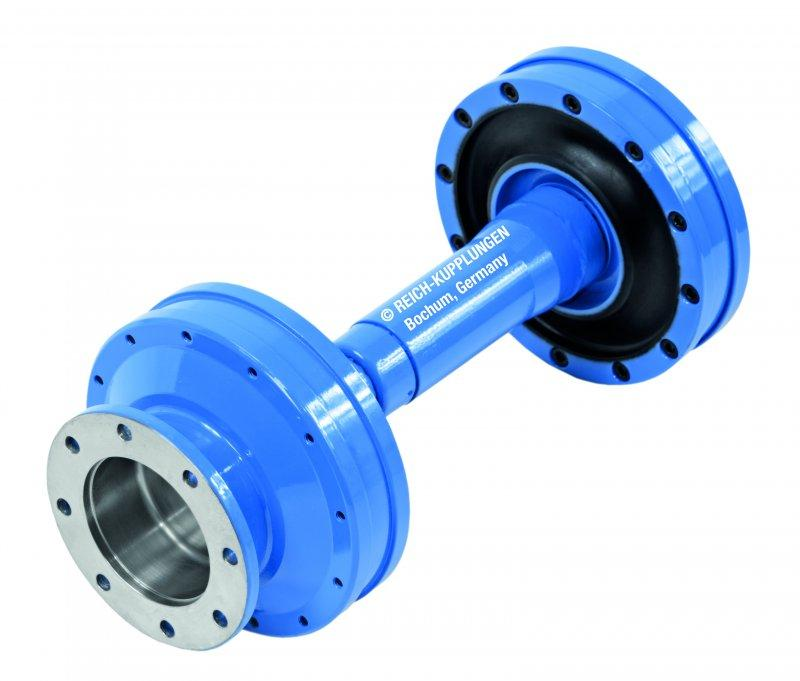 TOK  Coupling System - TOK Coupling System Highly Flexible Coupling Shafts for Test Benches