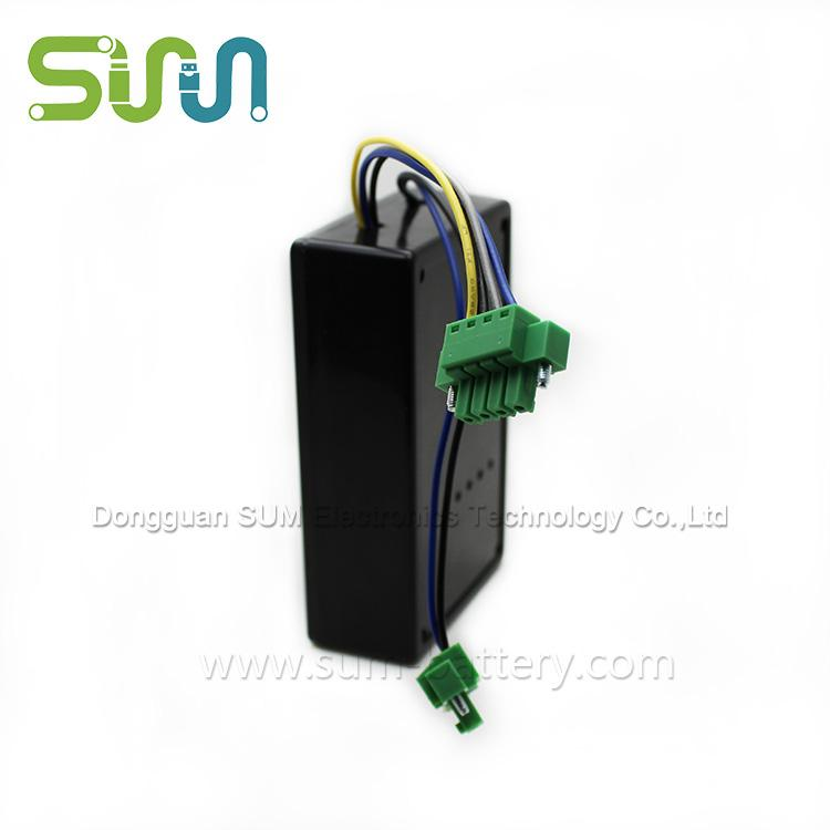 solar lithium battery - 18650-3P outdoor solar lithium rechargeable battery with a capacity of 3350mAh