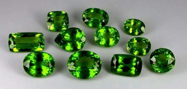 Esmeraldas Gemas - Esmeraldas Verdes