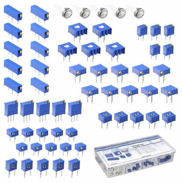 KIT POT TRIM 500-100K OHM 60PCS - Bourns Inc. H-870