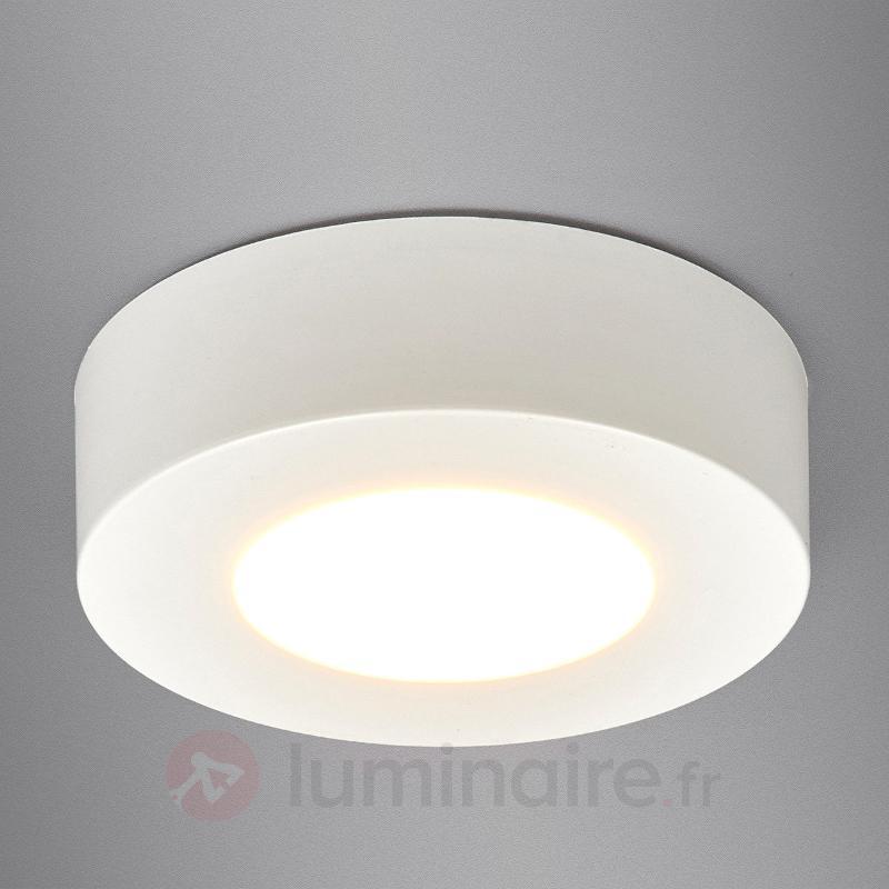 Plafonnier en saillie Esra avec LED - Plafonniers LED