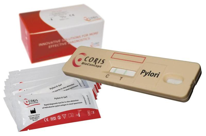 Cassettes - Helicobacter pylori - Rapid test for detection - null