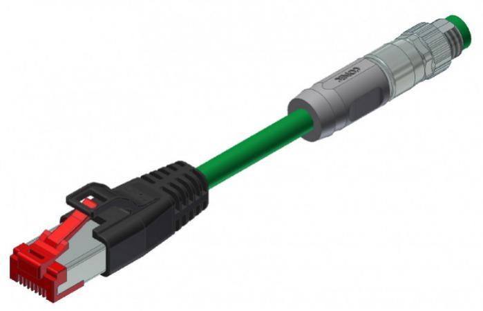 Industrial Ethernet Steckverbinder M8x1 - Industrial Ethernet Steckverbinder M8x1