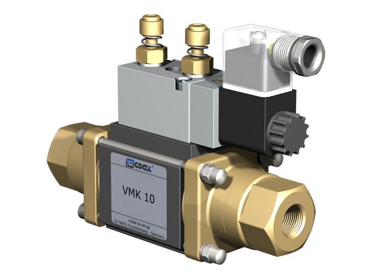 Co-ax Vmk | Vfk Coaxial Valves - 2/2 Way coaxial externally controlled valves