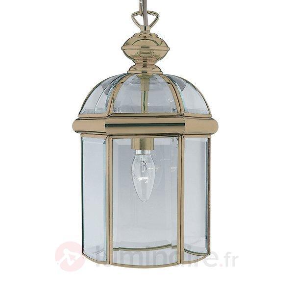 Belle suspension ARLIND à l'aspect laiton vieilli - Suspensions classiques, antiques