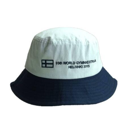 Promotional bucket hat for world gymnastics events