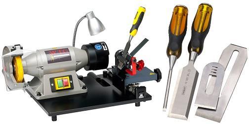 WTG-1 Stechbeitel und Hobelmesser schleif/schärf Maschine - SWISS MADE = Swiss Quality = makes happy