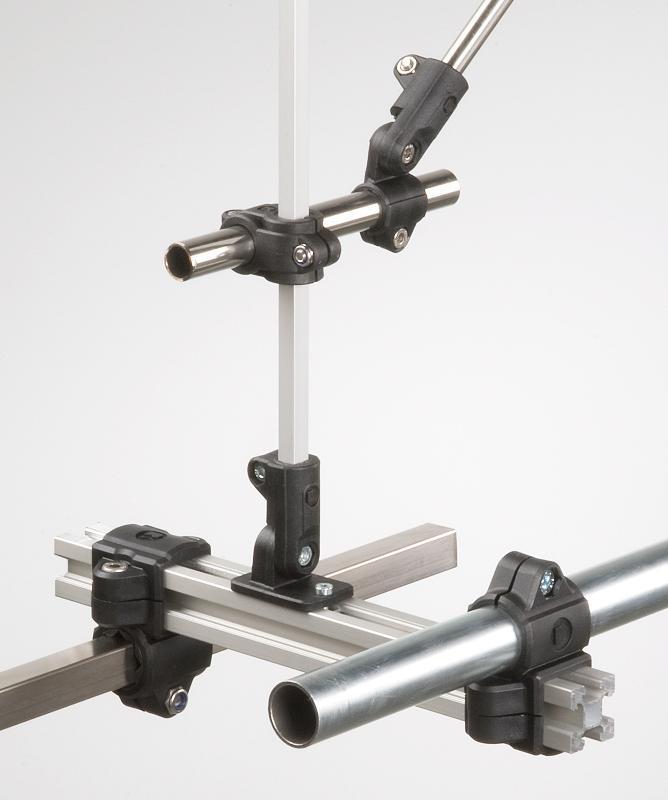 Rohrverbinder/Klemmverbinder aus Kunststoff