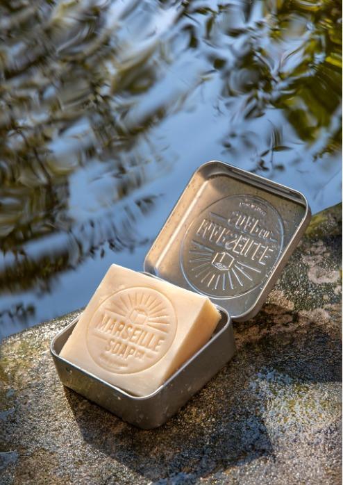 Marseille Soap Savon Verveine Certifié Cosmos Nat - SAVON MARSEILLE SOAP CO