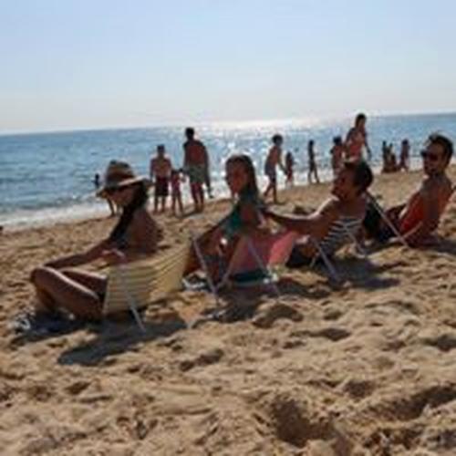 Respaldo/asiento para playa, campo y piscina -