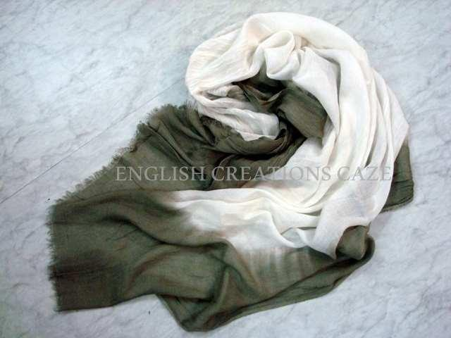 Silk Ombre Dyed Plain Color Stoles - Silk Ombre Dyed Plain Color Stoles