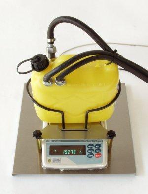 Fuel consumption metering