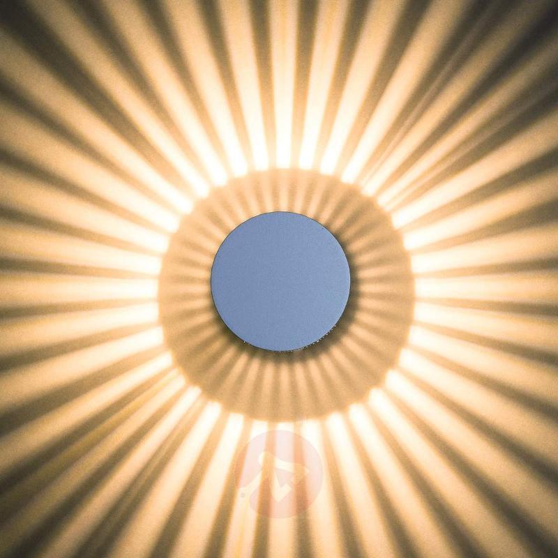 Corina striking LED outdoor wall light IP54 - Wall Lights