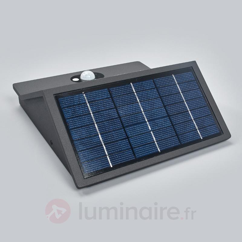 Numéro de maison lum. solaire Inessa, détecteur - Numéros de maison lumineux