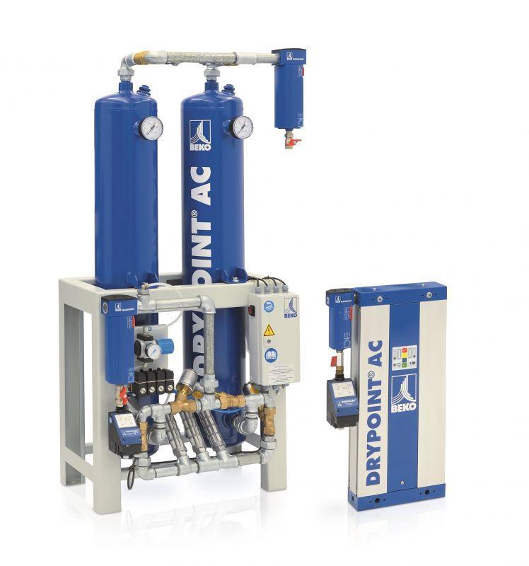 Secadores de aire comprimido - La gama de productos incluye secadores frigoríficos, de adsorción y de membrana