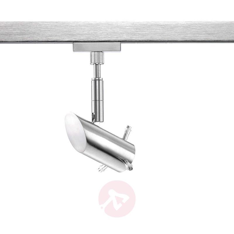 Spotlight head for HV Track 4 matt nickel - indoor-lighting