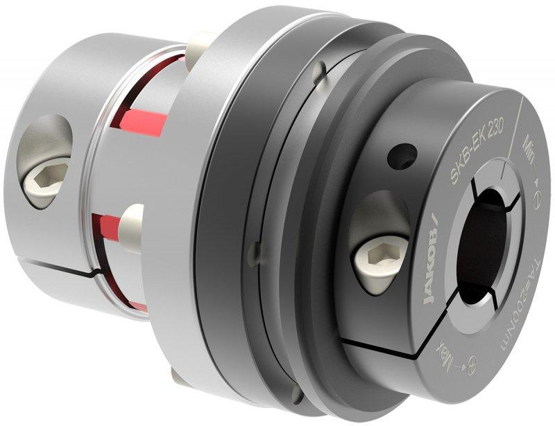 Safety coupling SKB-EK - Safety coupling with elastomer coupling attachment