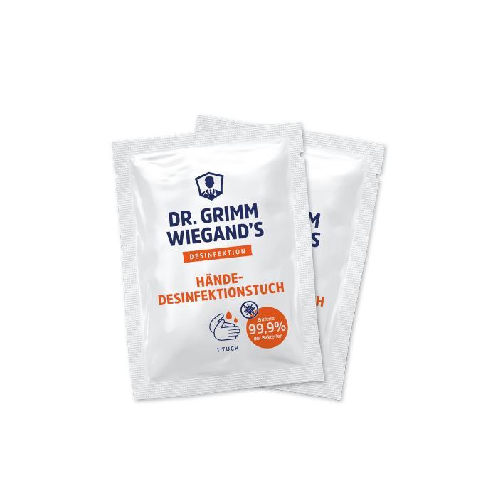 Handdesinfektionstuch mit alkoholischer Lösung - 0,33 € pro Stück