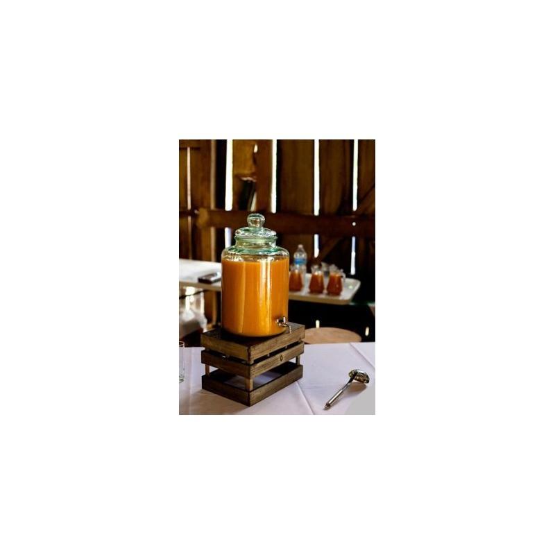 bonbonne cylindrique avec robinet en verre 100 recycl 12 litres bonbonnes et bonbonni res. Black Bedroom Furniture Sets. Home Design Ideas