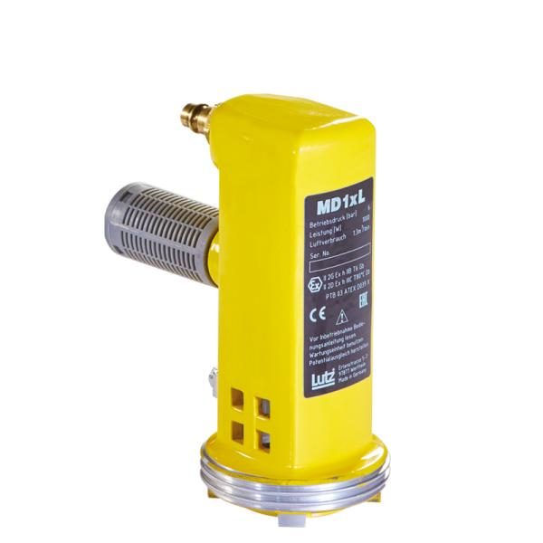 Compressed air motor MD1xL (1000 W) - Motors