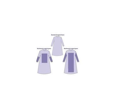 E0 Sterile SMS Surgical Gown - blue, 115*140cm,120*150cm,130*160cm,140*160cm
