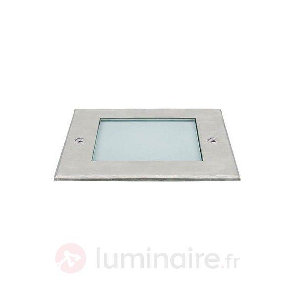 Spot LED encastrable sol Square II - Luminaires LED encastrés au sol
