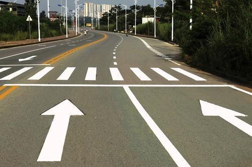 road marking ( traffic paint) - road marking ( traffic paint)